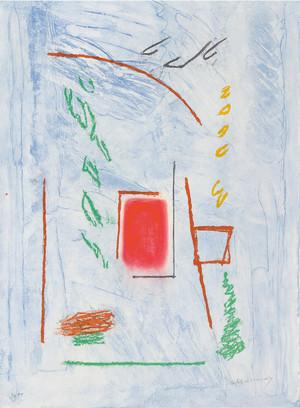Quadrat vermell, Albert Ràfols-Casamada