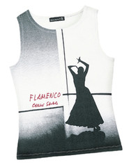 Camiseta Flamenco sin manga (señora)
