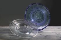 Bandeja espiral (transparente)