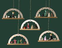 Adorno para el árbol: Arcos navideños