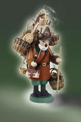 Muñeco fumador: Vendedor de cestas