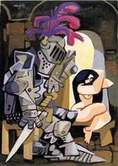 El guerrero y la dama