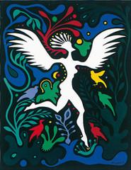 Mujer-pájaro