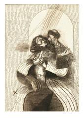 Trilogía del buen amor: El Arcipreste con doña Garoza